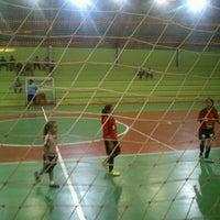 Photo taken at Ginásio Poliesportivo Francisco Limonti by Tatiani A. on 1/23/2013