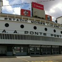 Photo taken at Estádio Moisés Lucarelli by Marinete M. on 12/2/2012