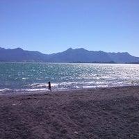 Photo taken at Playa Correntoso by Pablo P. on 1/1/2013