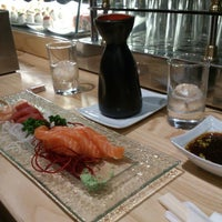 Photo taken at Uasabi Japanese Resto Bar by Bibbi I. on 2/16/2013