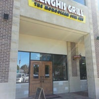 Photo taken at Genghis Grill by Onder K. on 1/10/2013