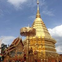 Photo taken at Wat Phrathat Doi Suthep by Kan C. on 5/25/2013