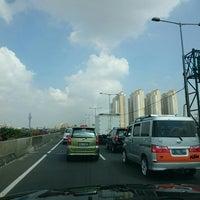 Photo taken at Jalan Tol Pelabuhan by Michel Alexandre S. on 5/18/2016