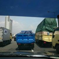 Photo taken at Jalan Tol Pelabuhan by Michel Alexandre S. on 4/6/2016