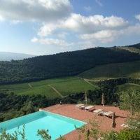Photo taken at Castello Vicchiomaggio by Eric C. on 9/22/2014