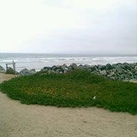 Photo taken at Playa Nueva España by Miri C. on 7/19/2013