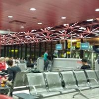 Photo taken at Lisbon Humberto Delgado Airport (LIS) by Jorge De P. on 10/17/2014