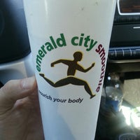 Photo taken at Emerald City Smoothie by Ryan K. on 6/28/2013