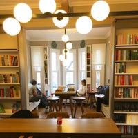 Photo taken at Nail Kitabevi & Kafe by Sümeyra Ö. on 2/13/2017
