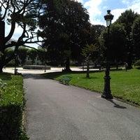Photo taken at Jardin Public Biarritz by Olga D. on 7/15/2017