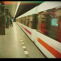 Photo taken at Metro =C= I. P. Pavlova by Není to D. on 11/30/2012