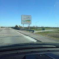 Photo taken at Missouri/Iowa State Line by 💀Charlie🇺🇸 B. on 10/16/2014