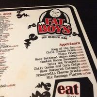Das Foto wurde bei Fat Boy's The Burger Bar von Sean R. am 10/31/2012 aufgenommen