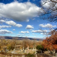 Photo taken at Wilkes Barre Cemetery by Aaron C. on 11/14/2014