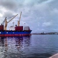 Photo taken at Puerto de Veracruz by Oscar de Jesus A. on 5/26/2013