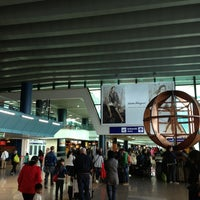 Photo taken at Leonardo da Vinci–Fiumicino Airport (FCO) by Zilana S. on 5/30/2013