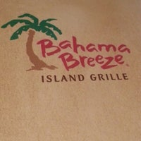 Photo taken at Bahama Breeze by Irene P. on 4/19/2013