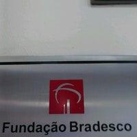 Photo taken at Fundação Bradesco by Maai M. on 12/12/2012