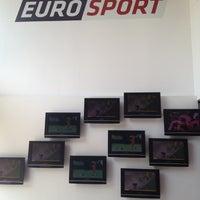 Photo taken at Eurosport by Emre G. on 10/22/2012