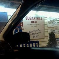 Photo taken at Sugar Hill Sub & Deli by Twana B. on 12/13/2012