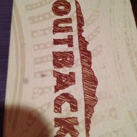 Photo taken at Outback Steakhouse by Bee R. on 3/2/2013