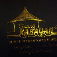 Photo taken at Saung Kabayan by VERA T. on 12/19/2013