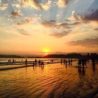 Photo taken at Areia Da Praia by Áthila M. on 4/24/2016