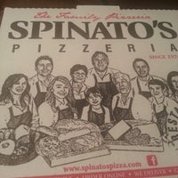 Photo taken at Spinato's Pizzeria by Ray F. on 12/31/2012