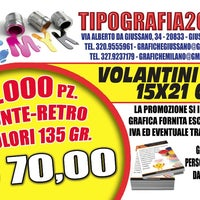 Photo taken at tipografia2000 by massimiliano g. on 8/5/2014