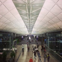Photo taken at Hong Kong International Airport (HKG) by Belinda Y. on 11/4/2013