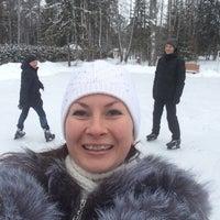 Photo taken at Каток в Les Art by Olesya Z. on 1/23/2015