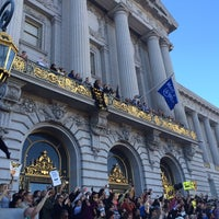 Photo taken at Civic Center Plaza by Nico P. on 11/15/2013