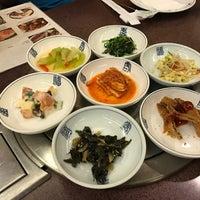 Photo taken at Auntie Kim's Korean Restaurant by Lipstouched on 1/31/2017