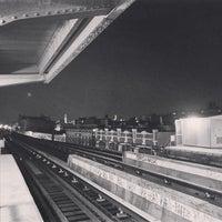 Photo taken at Gates Avenue Station (J) by Derrick A. on 12/28/2016