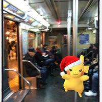 Photo taken at Gates Avenue Station (J) by Derrick A. on 12/26/2016
