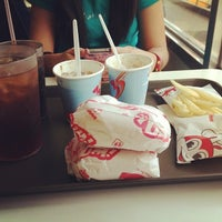 Photo taken at Jollibee by Krysthalane C. on 10/15/2013