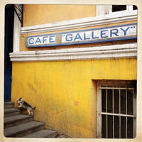 Photo taken at Cafe Gallery • კაფე გალერი by Sorin H. on 7/7/2013