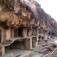 Photo taken at Elephanta Caves by HISTORY TV18 on 1/23/2013