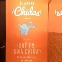 Photo taken at Chidas - Quesadillas by Claudia L. on 2/21/2015
