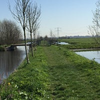 Photo taken at Hollands-Utrechts Polderpad by Bert v. on 4/15/2015