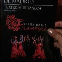 Photo taken at Teatro Muñoz Seca by Nazlı Gözdem Ç. on 9/19/2013