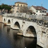 Photo prise au Ponte di Tiberio par Nazlı Gözdem Ç. le2/10/2013