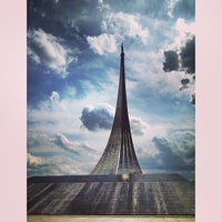 Photo taken at Monument to the Conquerors of Space by Nastya_August on 7/13/2013