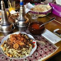 Photo taken at Khan Farouk Tarab Cafe by Amna A. on 3/23/2013