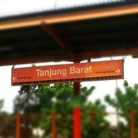 Photo taken at Stasiun Tanjung Barat by Rudi P. on 10/24/2012