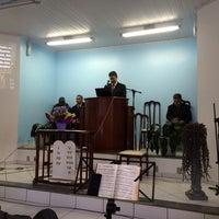 Photo taken at Igreja Adventista do Sétimo dia Movimento de Reforma - Jardim Silvana/PR by Vinícius G. on 4/26/2014