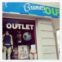 Photo taken at Brunos Men's Underwear Outlet by Dimitri B. on 7/23/2013