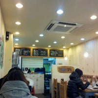 Photo taken at 고봉민김밥 by Sienna H. on 2/3/2013