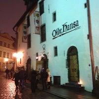 Photo taken at Olde Hansa by Irina T. on 1/2/2013