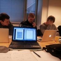 Photo taken at Sähkö- ja tietoliikennetekniikka / Electrical and Communications Engineering by Johan L. on 12/19/2012